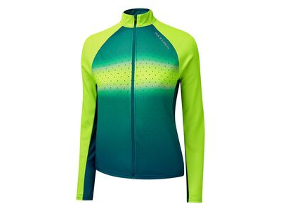 Altura Women's Airstream Long Sleeve Jersey Yellow/Teal