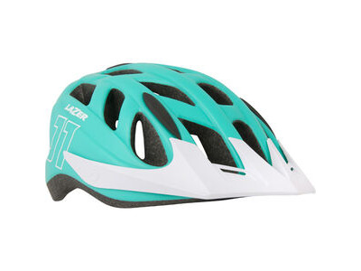 Lazer J1 matt mint green/white uni-size youth