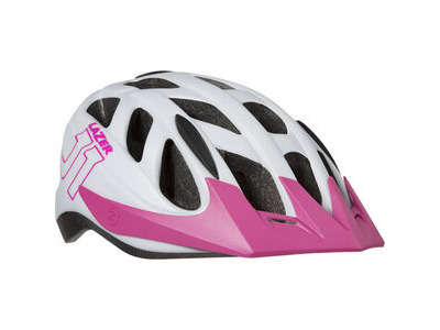 Lazer J1 white / pink uni-size youth
