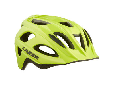 Lazer Nut'Z Helmet, Flash Yellow, Uni-Youth