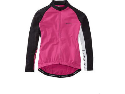 Madison Keirin women's long sleeve thermal jersey, very berry