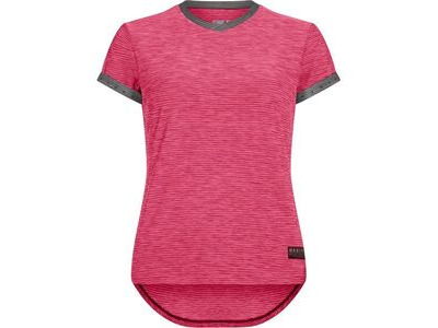 Madison Leia women's short sleeve jersey, rose red