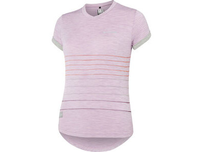 Madison Leia women's short sleeve jersey, violet mist / silver grey