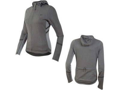 Pearl Izumi Women's, Elite Escape Thermal Hoody, Smoked Pearl