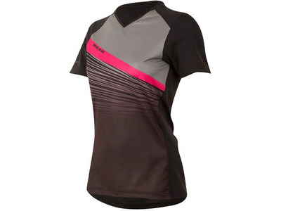 Pearl Izumi Women's, Launch Jersey, Black/Smoked Pearl Fracture