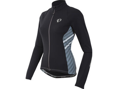 Pearl Izumi Women's, Select Pursuit Thermal Jersey, Black Stripe