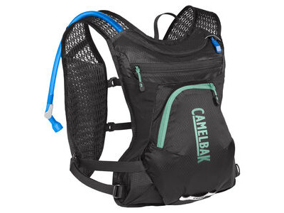 CamelBak Women's Chase Bike Vest Hydration Pack Black/Mint 4 Litre