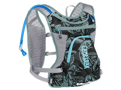 CamelBak Women's Chase Bike Vest Hydration Pack Mineral Blue/Black Palms 4 Litre