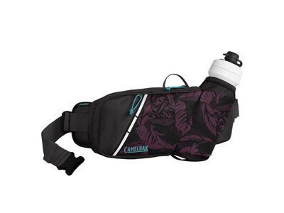 CamelBak Podium Flow Belt Hydration Pack Plum/Black Palms 2 Litre