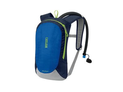 CamelBak Kicker Kids' Winter Hydration Pack Prince Blue/Lime Green 1.5l/50oz