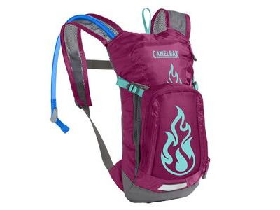 CamelBak Kids' Mini Mule Hydration Pack Baton Rouge/ Flames 1.5l/50oz