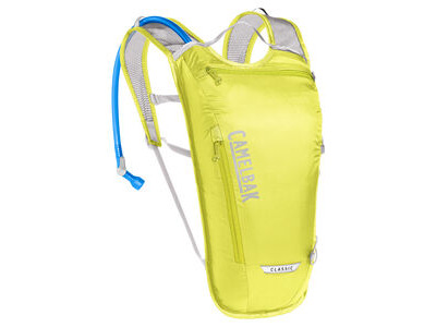 CamelBak Classic Light Hydration Pack Safety Yellow/Silver 3 Litre