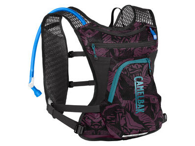 CamelBak Chase Bike Vest Hydration Pack Plum/Black Palms 4 Litre